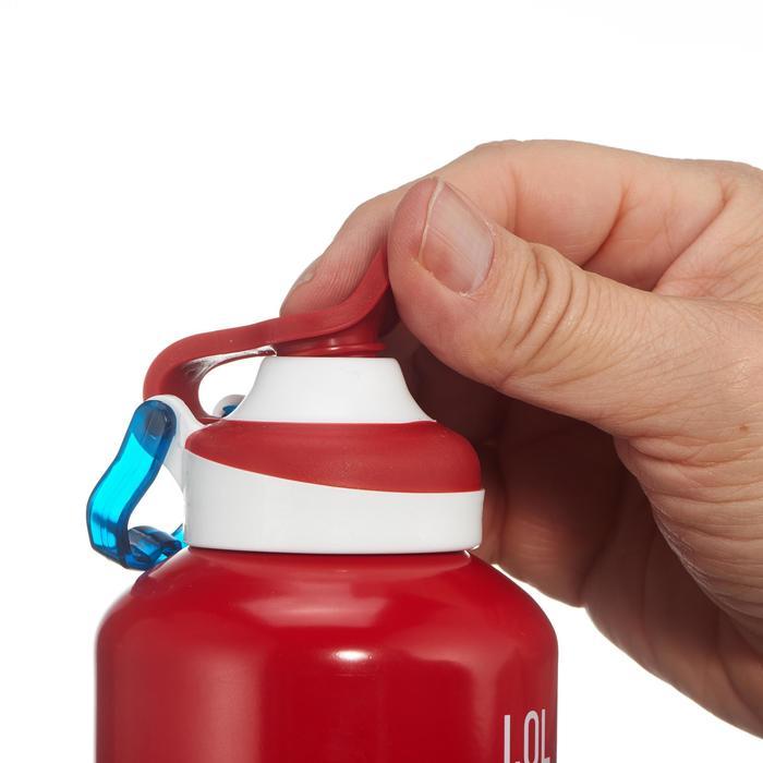 Gourde randonnée 500 bouchon ouverture rapide 1 litre aluminium - 1131571