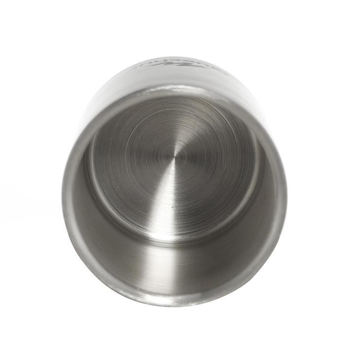 防燙不鏽鋼瓶(0.25 L)MH500,適合健行者在露營時使用。