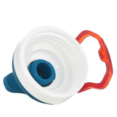 قارورة مصنوعة من الألومنيوم 500 للتنزه مزودة برأس سهلة الفتح -1 لتر- لون أزرق