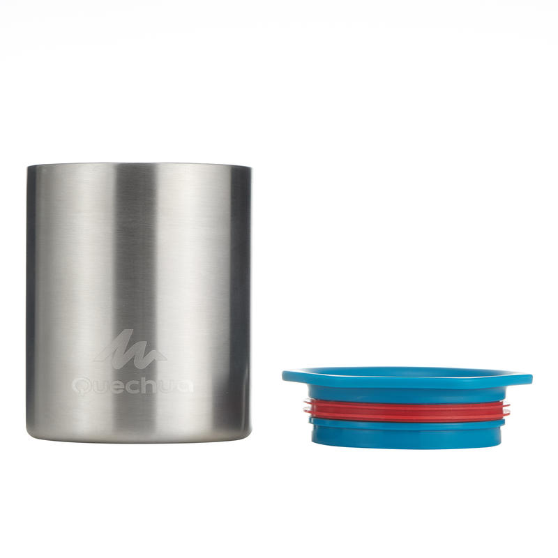 Mountain Hiking camp cup MH500 anti-burn stainless 0.25L