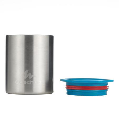 Stainless steel anti-scald hiking mug 0.25 L