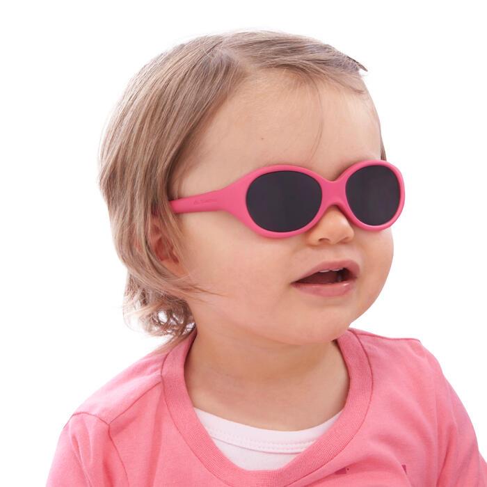 嬰兒款健行太陽眼鏡(6個月到24個月,濾鏡分類4)MH B100