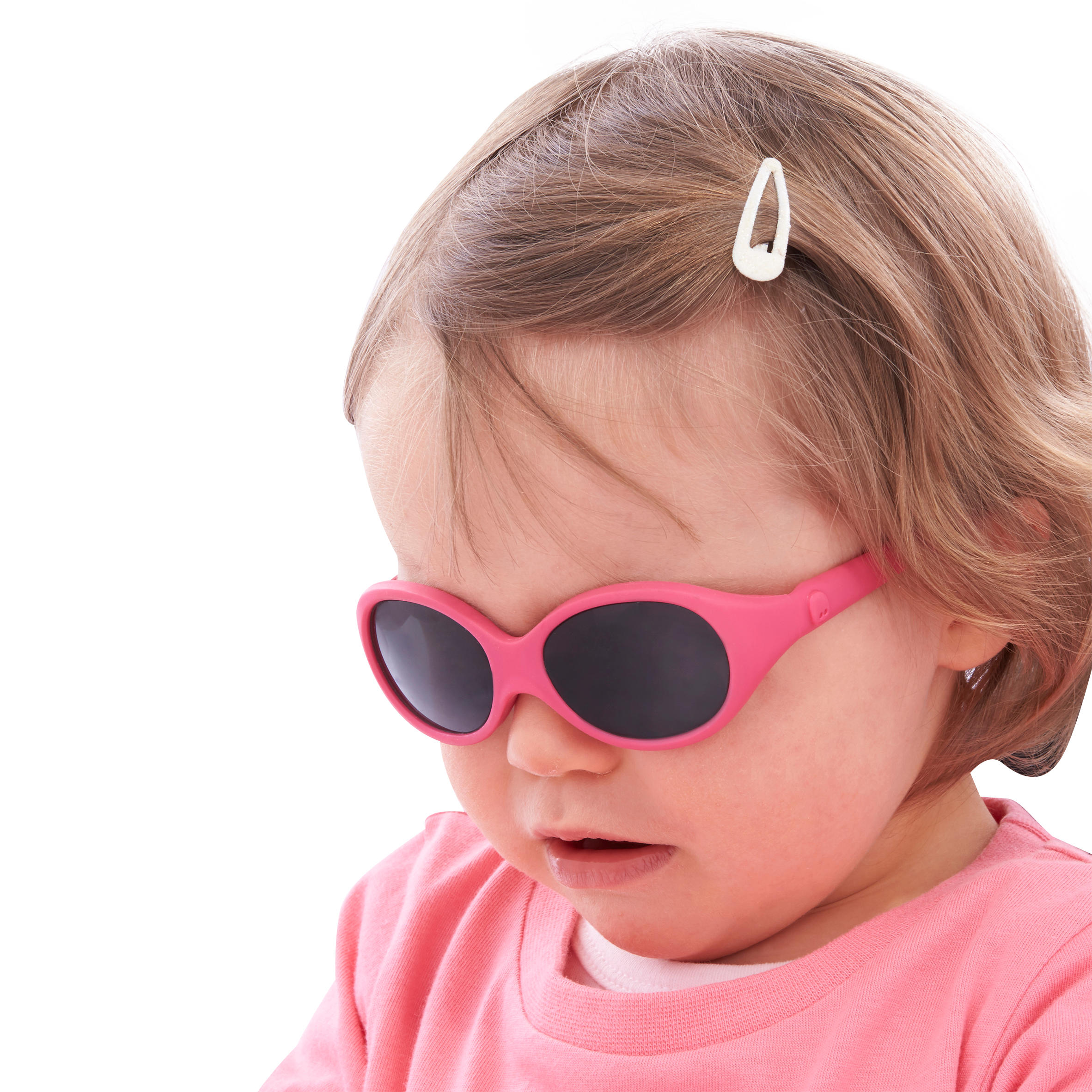 Baby Hiking Age 6-24 Months Category 4 Sunglasses MH B 500 - Pink
