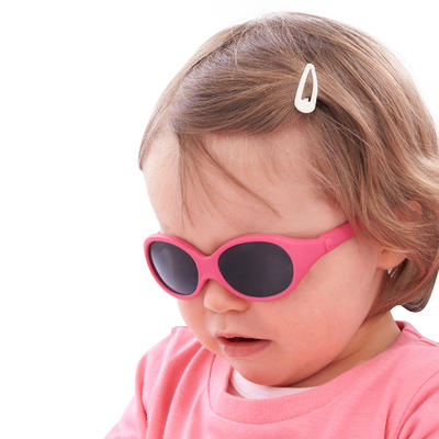 MH B 500 Baby Hiking Sunglasses Ages 6-24 Months Category 4 - Pink