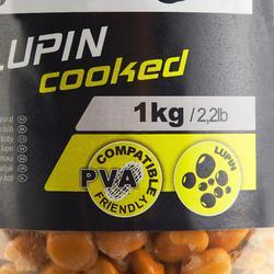 Zaden karpervissen gekookte lupine 1,5 l