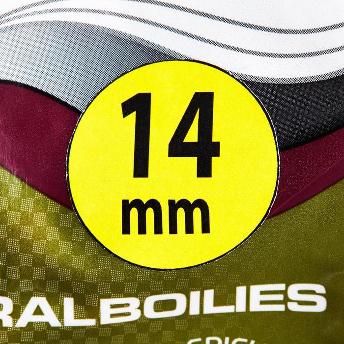 Bouillettes pêche de la carpe NATURAL SPICYBIRDFOOD 14MM 1 kg