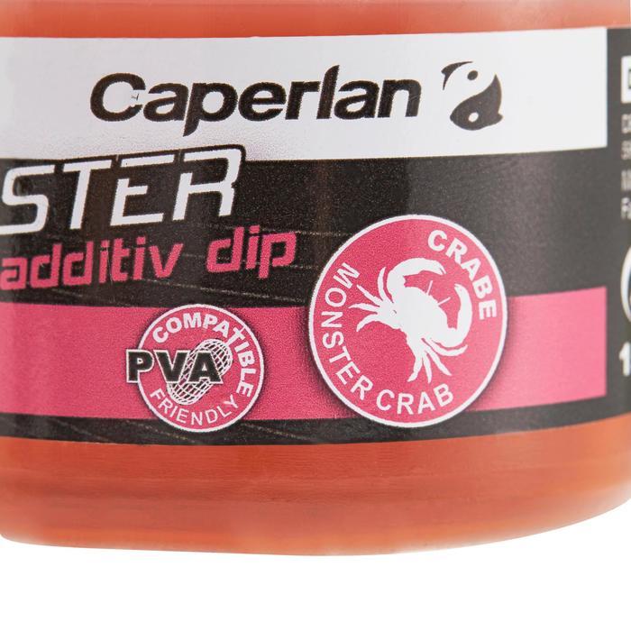 Additif pêche de la carpe GOOSTER ADDITIV DIP MONSTER CRAB 200 ML