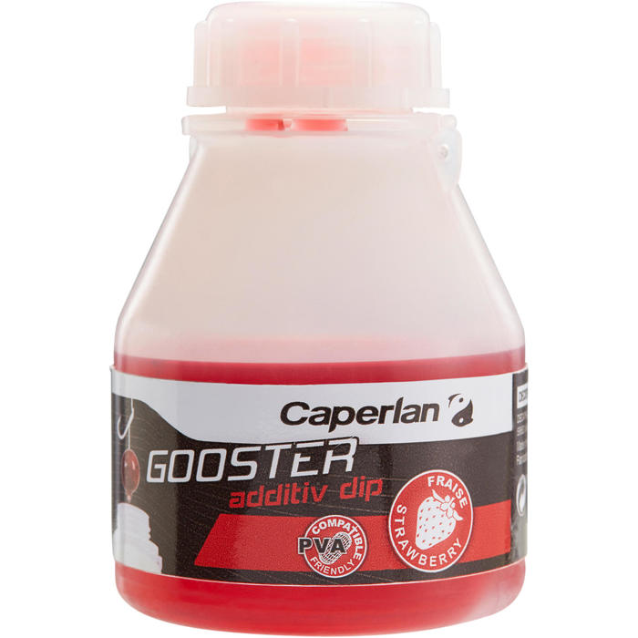 Additif pêche de la carpe GOOSTER ADDITIV DIP STRAWBERRY 150 ML - 1131749