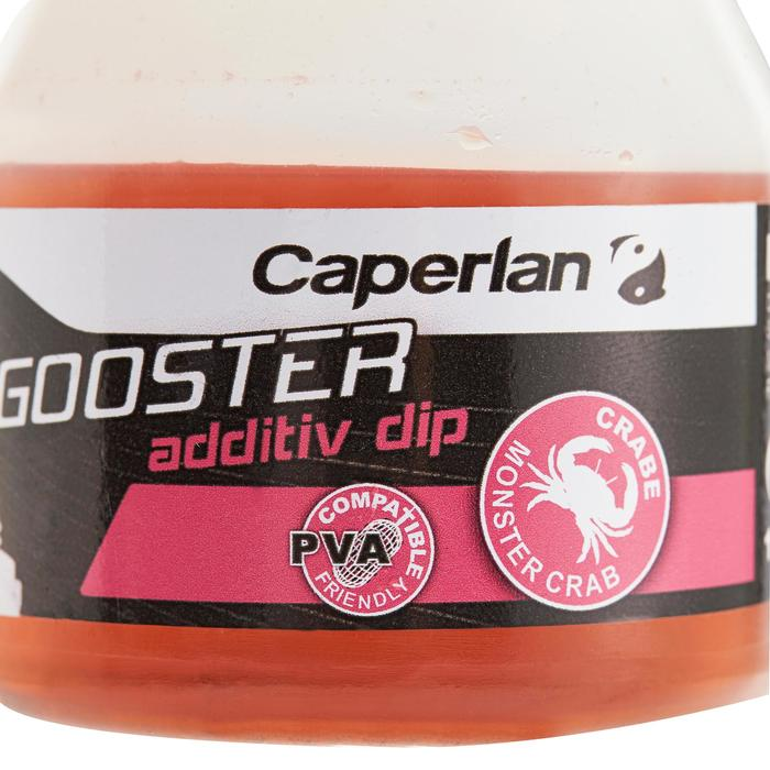 Additif pêche de la carpe GOOSTER ADDITIV DIP MONSTER CRAB 150 ML