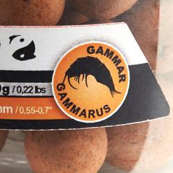 Lokvoer voor karpervissen drijvende boilies strawbanana 14 en 18 mm 100 g - 1131791