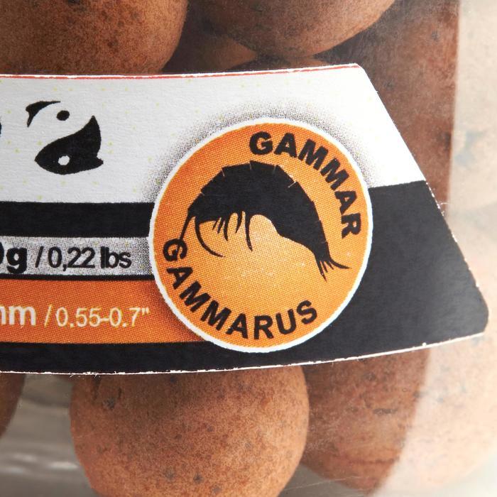 Boilies flotantes pesca de la carpa gammarus 100 g 14 y 18 mm