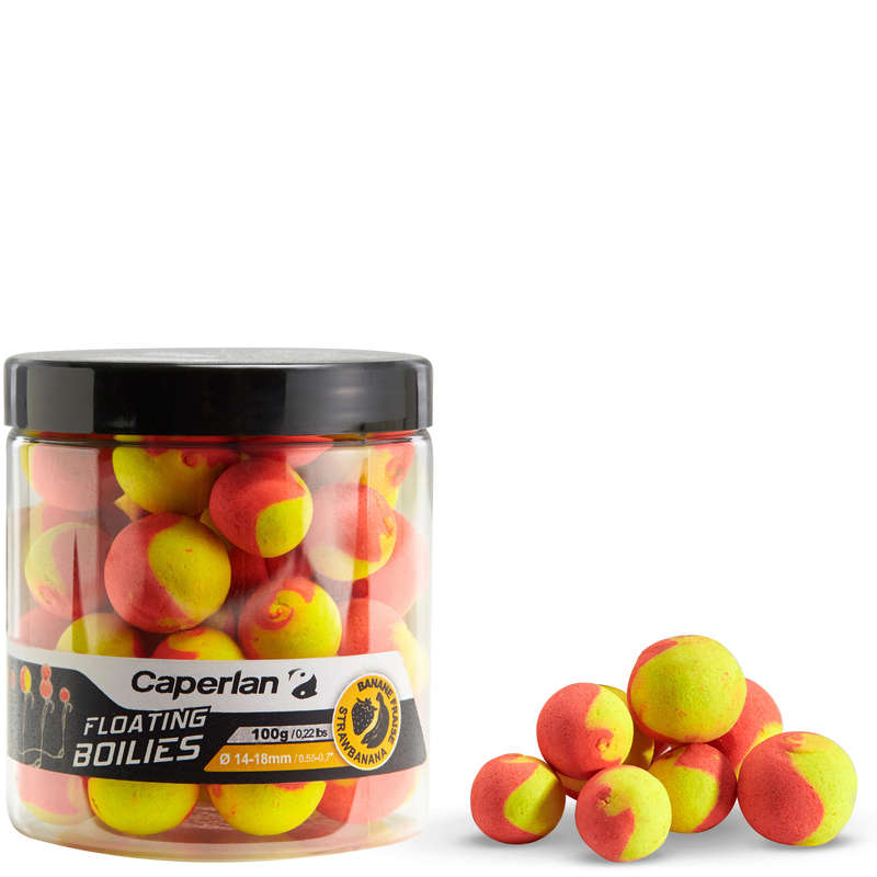 CARP BAITS, BAITING EQUIPEMENT Fishing - FLOATING STRAWBERRY/BANANA CAPERLAN - Carp Fishing
