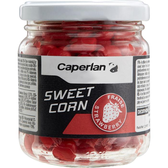 Lokaas karpervissen zachte maïs aardbeien 125 g - 1131795