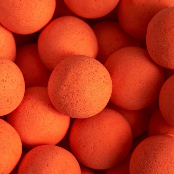 Boilies flotantes pesca de la carpa monstercrab naranja fluo 14 y 18 mm