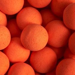 Drijvende boilies voor karpervissen Monstercrab fluo-oranje 14 en 18 mm