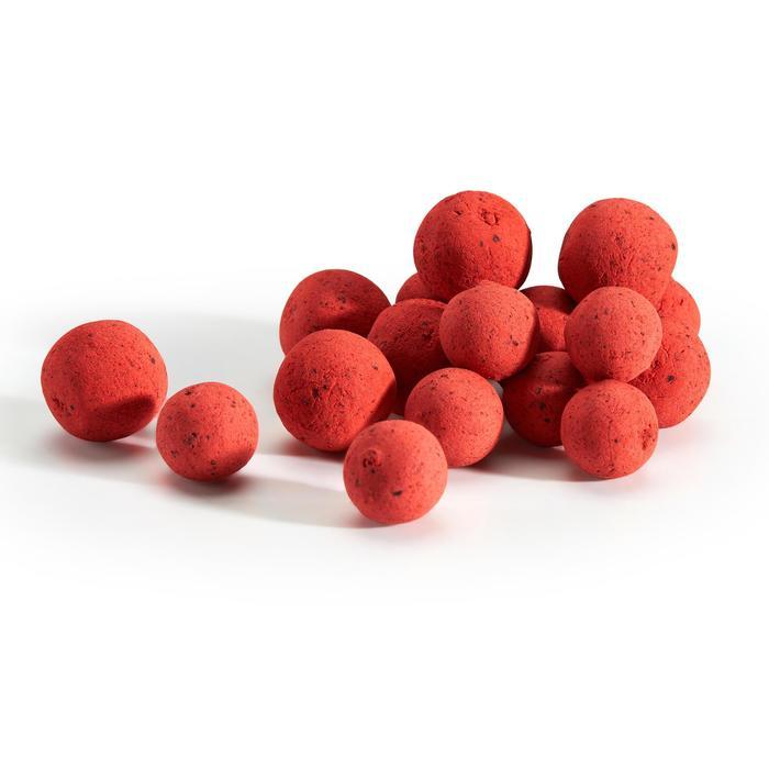 Schwimmboilies Karpfenangeln Erdbeere 14/18 mm 100 g