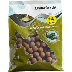 Boilies voor het karpervissen Natural Mussel 14 mm 1 kg
