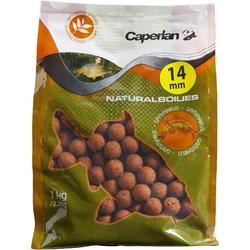 Boilies pesca de la carpa NATURAL GAMMARUS 14 mm 1 kg