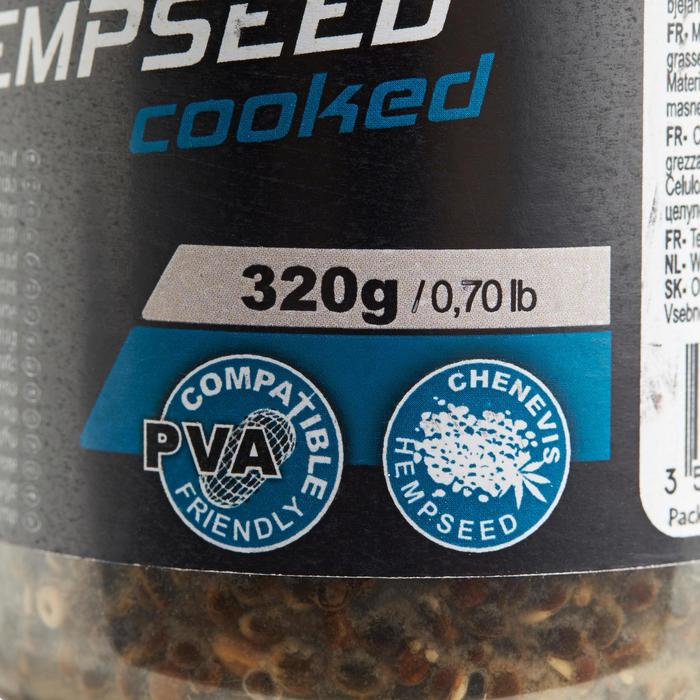 Gekookte hennepzaden 400 ml