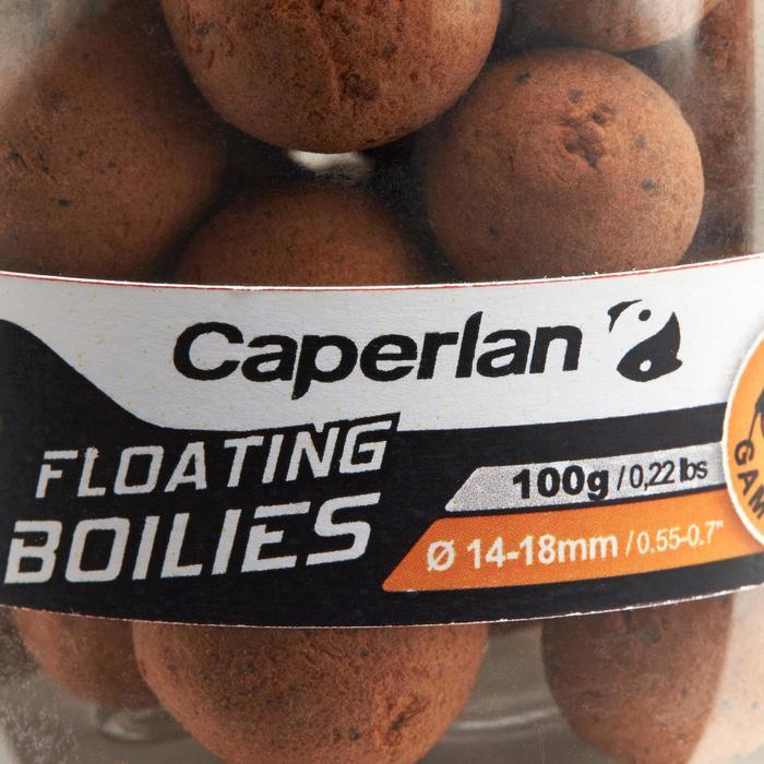 bouillettes flottantes pêche de la carpe gammarus 100gr 14 et 18mm