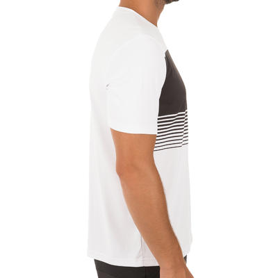 T SHIRT TENNIS HOMME SOFT 100 BLANC