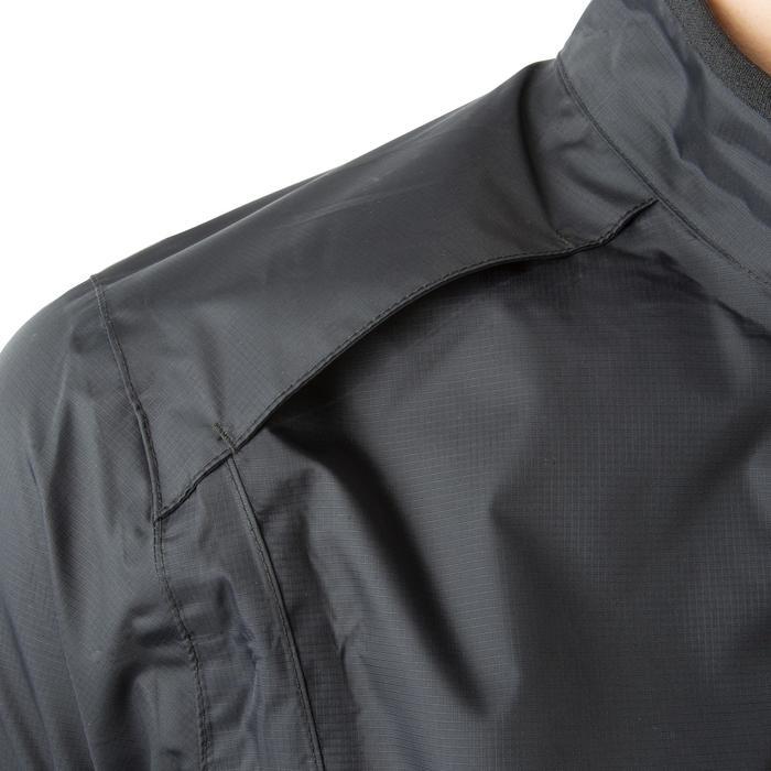 Fiets regenjasje 500 voor heren zwart