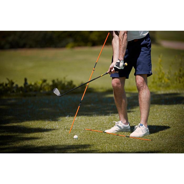 Golf Ausrichtungsstäbe 2 Stück gelb