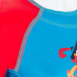 Schwimmanzug Shorty Kloupi Baby bedruckt blau