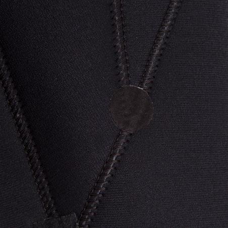 MEN'S 4 mm SWIMMING JAMMERS - BLACK / ORANGE