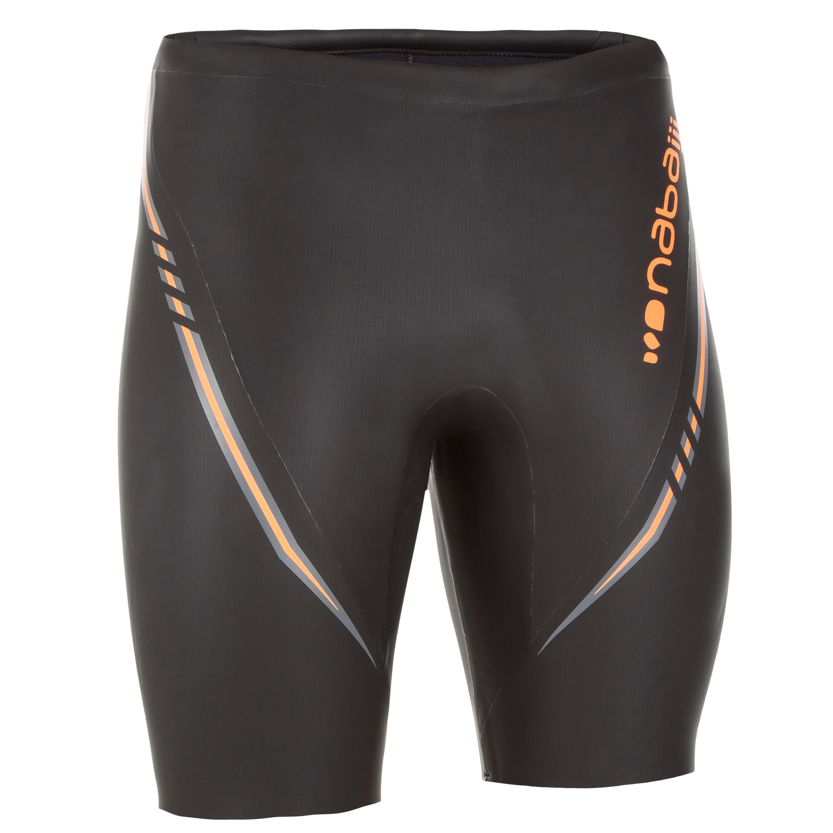 Boxeri înot neopren 4 mm Negru la Reducere poza