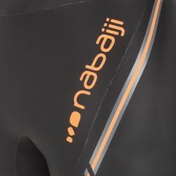 Bañador Natación Aguas Abiertas Nabaiji Jammer 500 Hombre Neopreno 4mm Negro