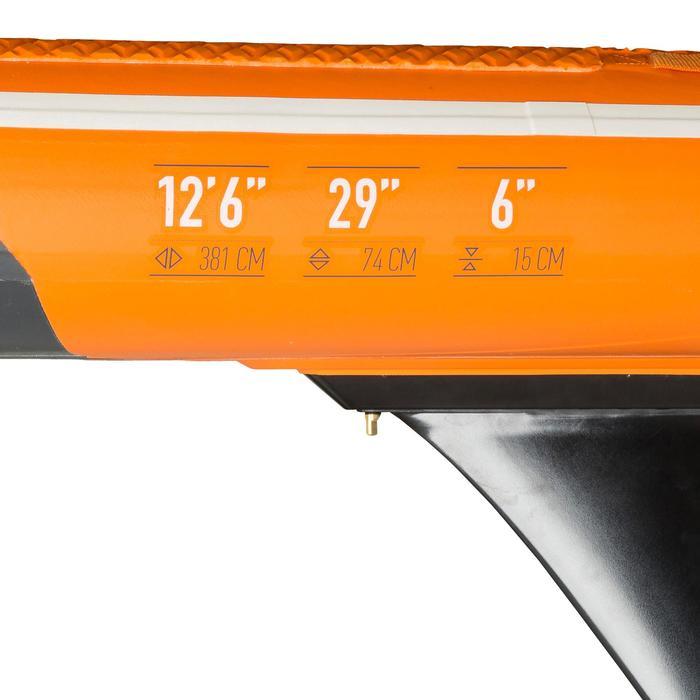 "500 Inflatable Touring Racing SUP 12'6-29"" - Orange"