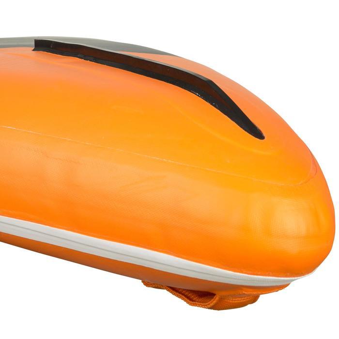 """Opblaasbaar supboard voor tochten 500 / 12'6-29"""" oranje"""