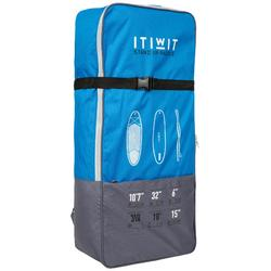 Mochila De Transporte para Stand Up Paddle Itiwit | SUP ALLROUND Azul