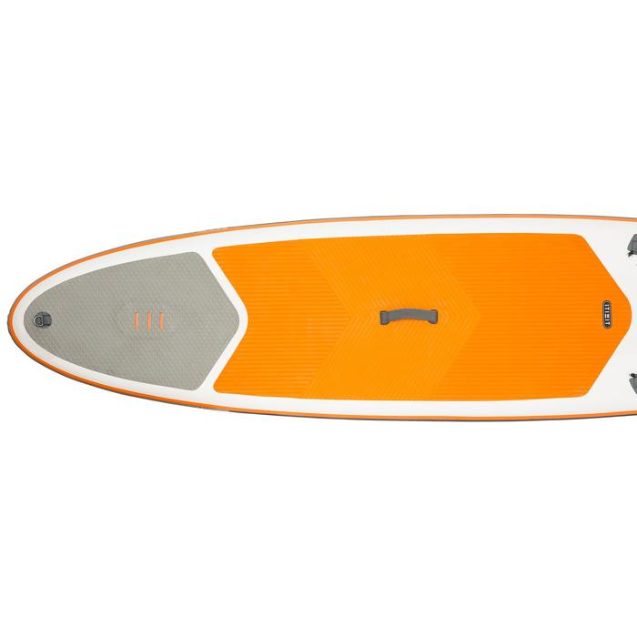 STAND UP PADDLE GONFLABLE RANDONNEE 100 / 9'8 ORANGE - 1132542
