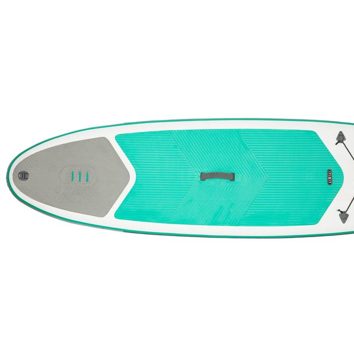 STAND UP PADDLE GONFLABLE RANDONNEE 100 / 8'9 VERT - 1132548