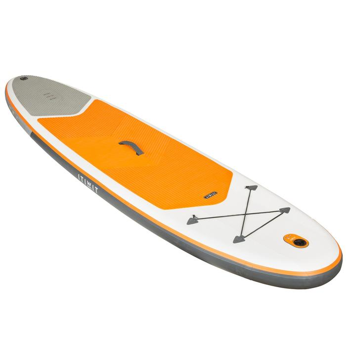 STAND UP PADDLE GONFLABLE RANDONNEE 100 / 9'8 ORANGE