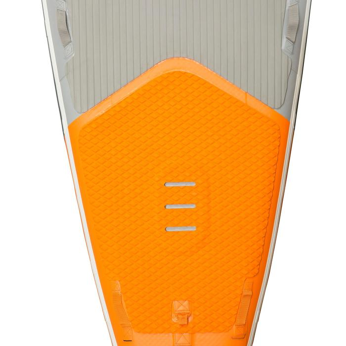 """STAND UP PADDLE GONFLABLE RANDONNEE COURSE 500 / 12'6-29"""" ORANGE - 1132559"""
