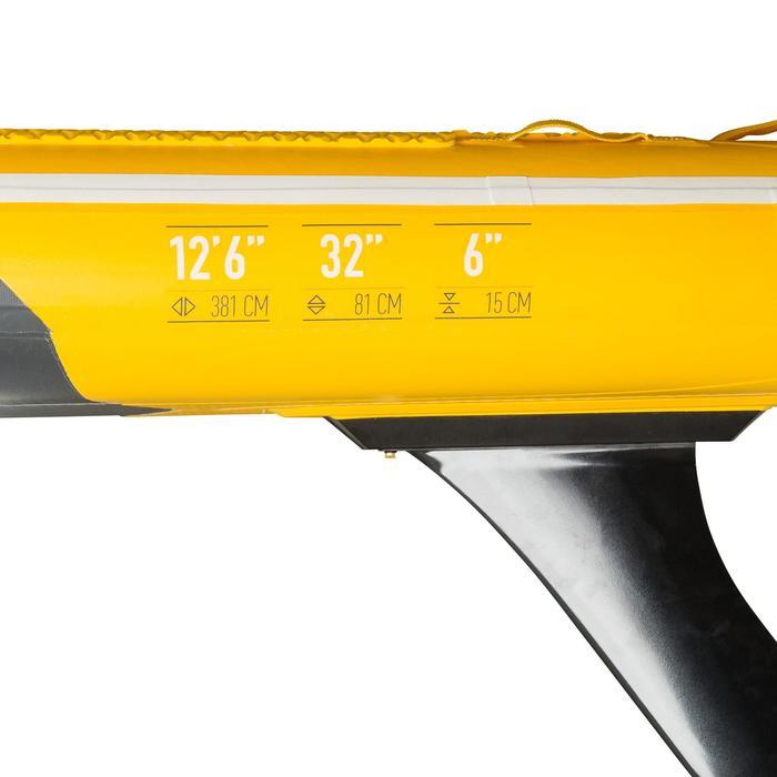 "Opblaasbaar touring supboard 500 / 12'6-32"" geel"