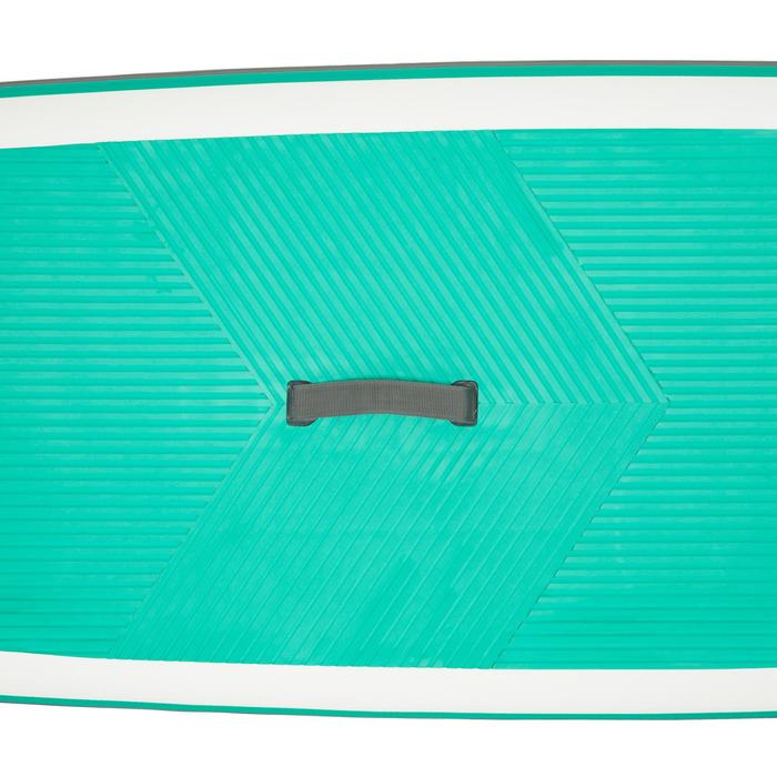 SUP-Board aufblasbar 8'9 Touring Einsteiger grün