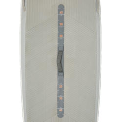"""Touring Inflatable Stand-Up Paddle Board 500 / 12'6""""-29"""" - Orange"""