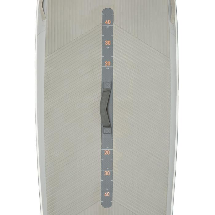 """STAND UP PADDLE GONFLABLE RANDONNEE COURSE 500 / 12'6-29"""" ORANGE - 1132564"""