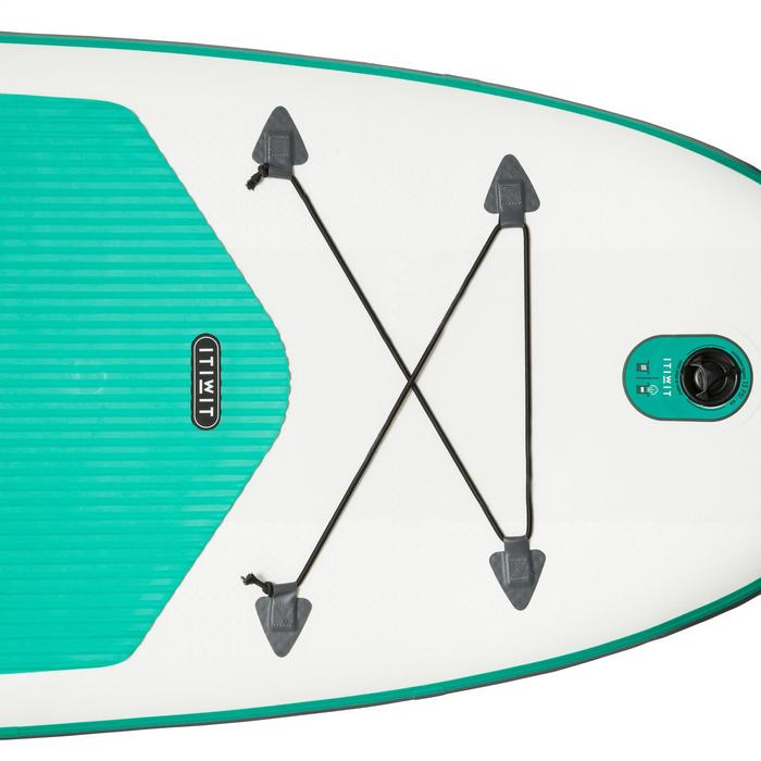 STAND UP PADDLE GONFLABLE RANDONNEE 100 / 8'9 VERT - 1132595