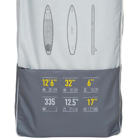 500 Touring Inflatable Stand-Up Paddle Board 12 6 - 32