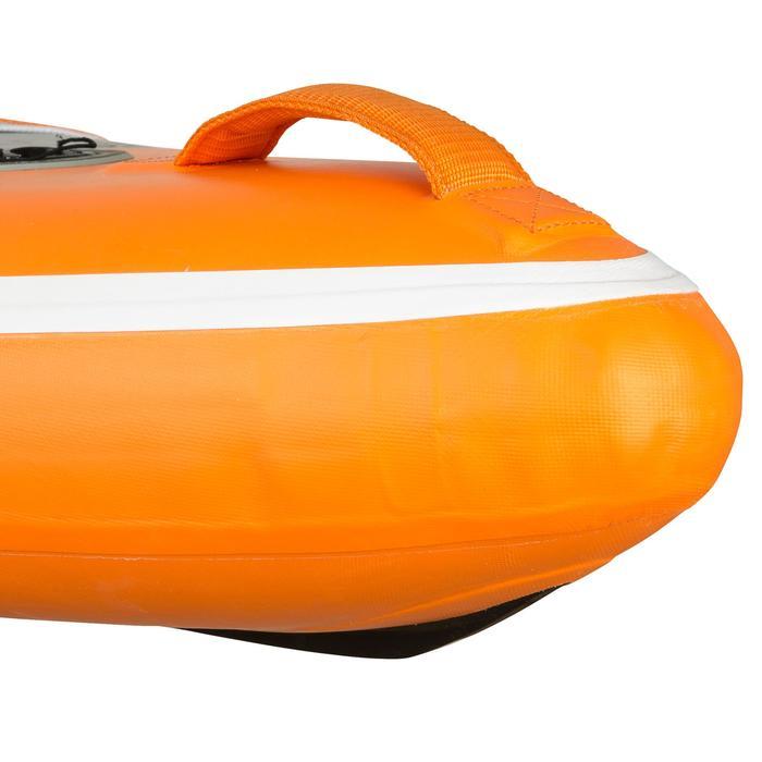 "Tabla De Stand Up Paddle Hinchable de Travesía Itiwit 500 / 12,6'-29"" Naranja"