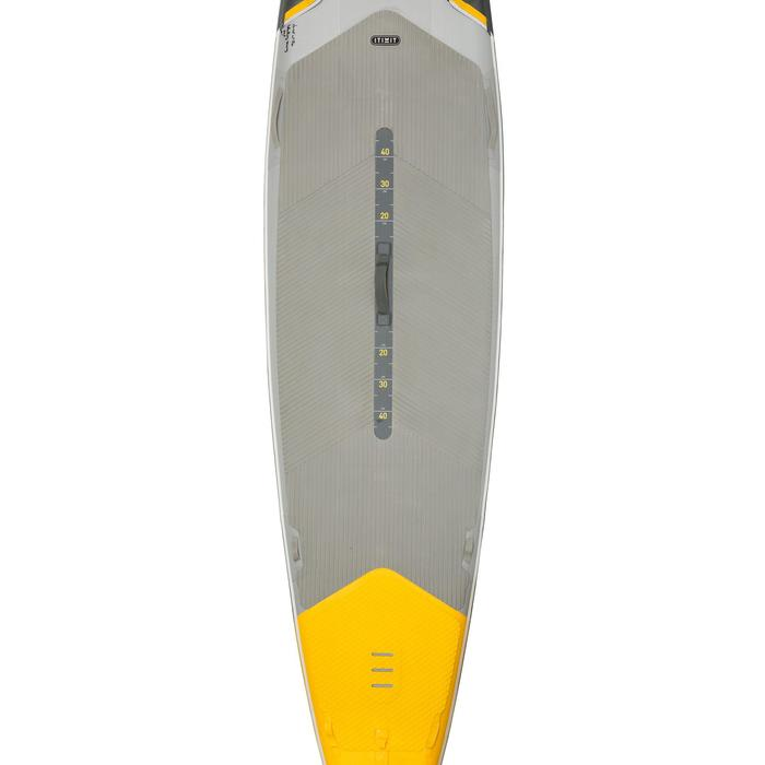 "STAND UP PADDLE GONFLABLE RANDONNEE COURSE 500 / 12'6-32"" JAUNE - 1132627"