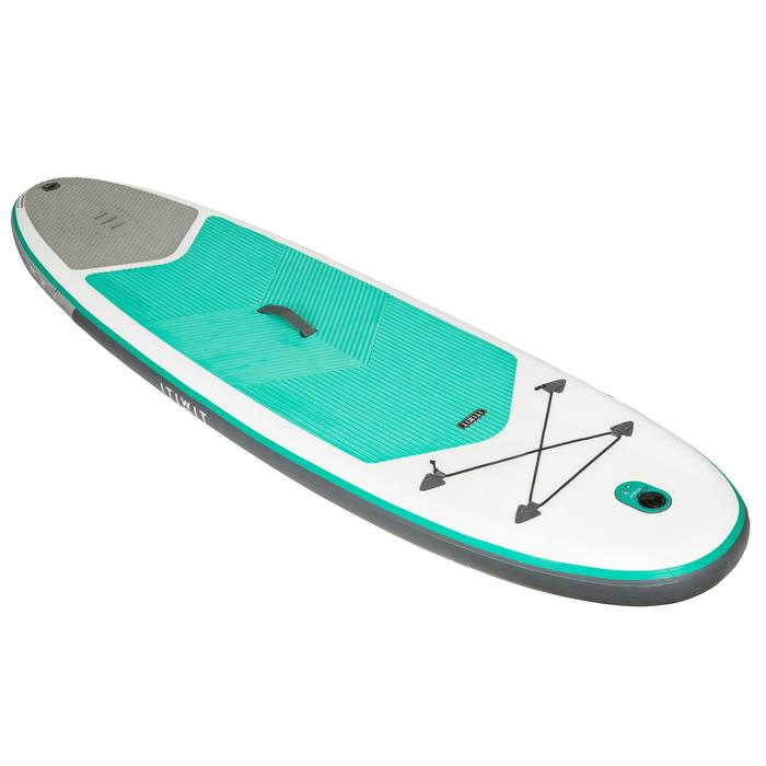 STAND UP PADDLE GONFLABLE RANDONNEE 100 / 8'9 VERT - 1132632