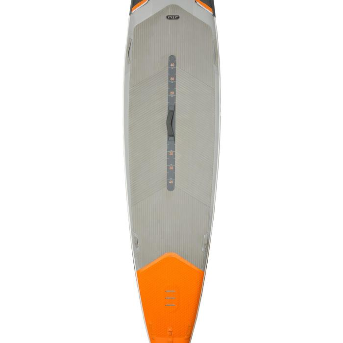 """STAND UP PADDLE GONFLABLE RANDONNEE COURSE 500 / 12'6-29"""" ORANGE - 1132641"""