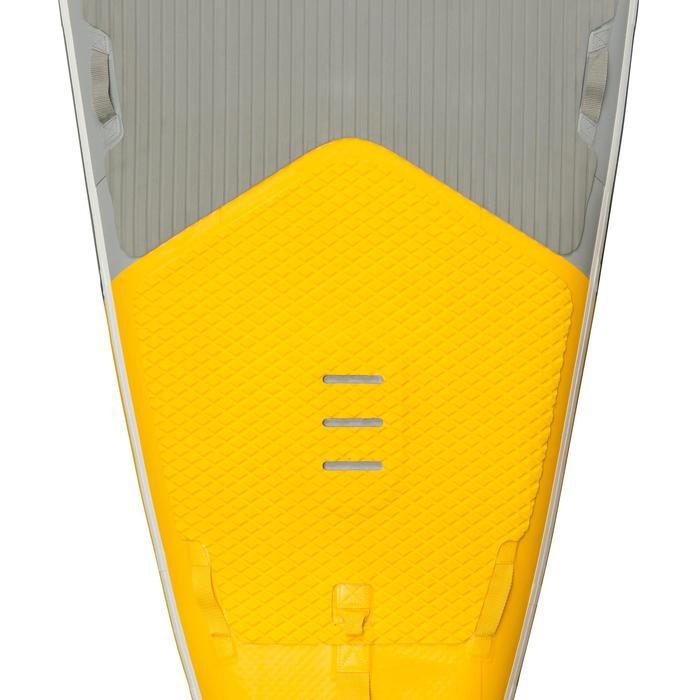"STAND UP PADDLE GONFLABLE RANDONNEE COURSE 500 / 12'6-32"" JAUNE - 1132644"