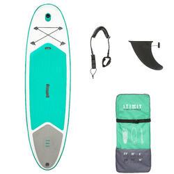 """Opblaasbaar stand-up paddle board voor tochten 100 / 8'9"""" groen"""
